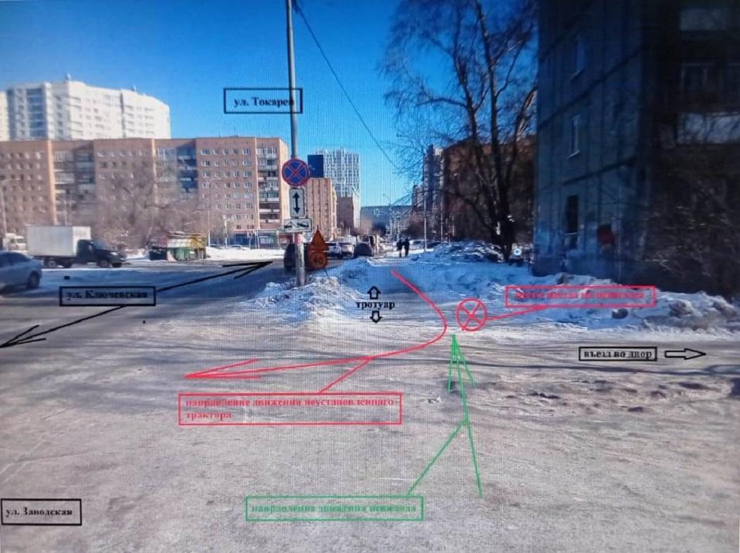В Екатеринбурге водитель трактора ударил ковшом 14-летнюю девушку