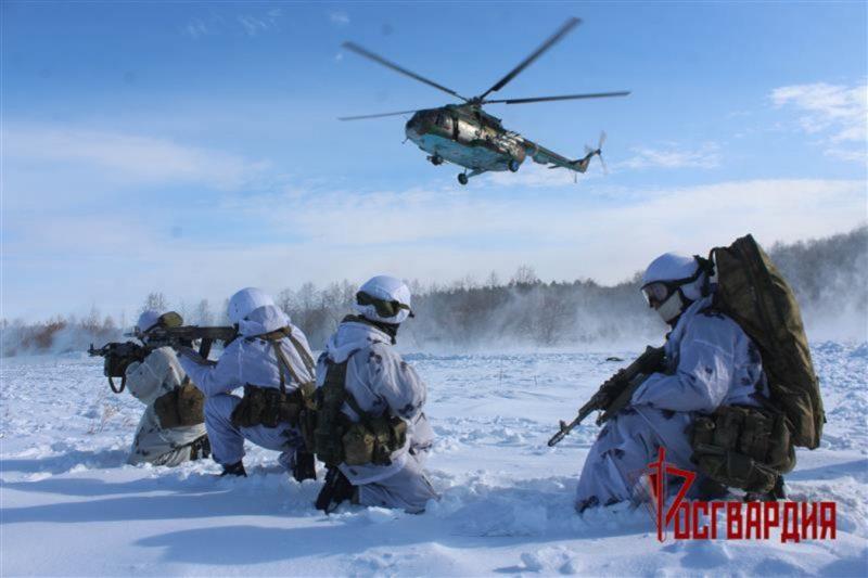 Под Челябинском отряд спецназа «Оберег» провел тактико-специальное учение