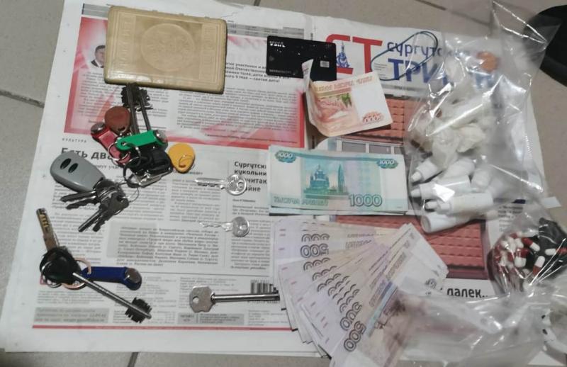 Силовики изъяли у жителя Сургута 8,5 кг сильнодействующих веществ 1