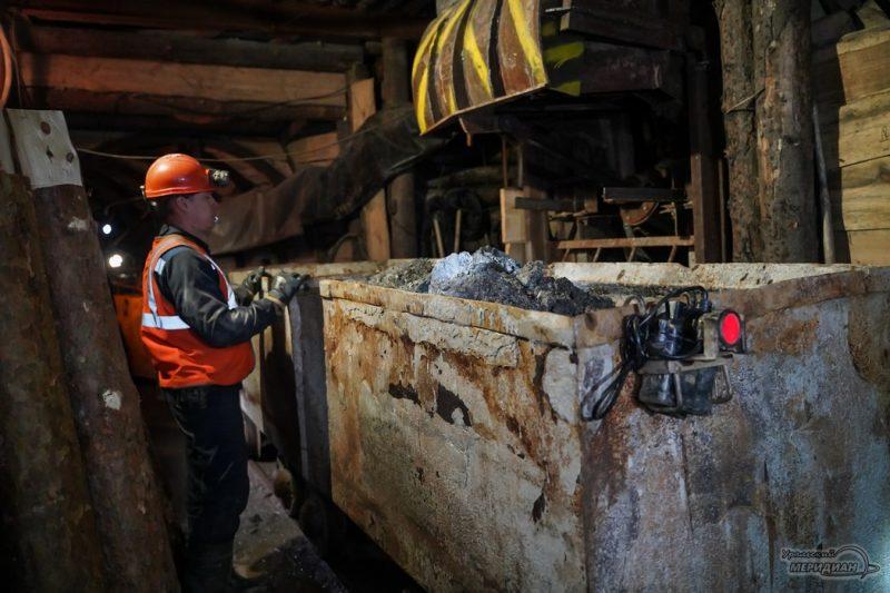 mariinskiy priisk ruda izumrud mestorozhdenie shahty 113