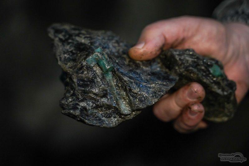 mariinskiy priisk ruda izumrud mestorozhdenie shahty 130