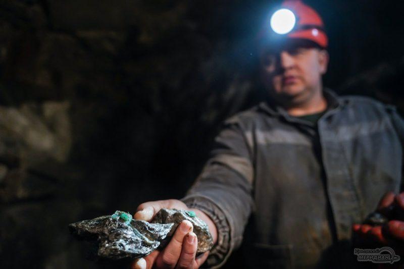 mariinskiy priisk ruda izumrud mestorozhdenie shahty 131