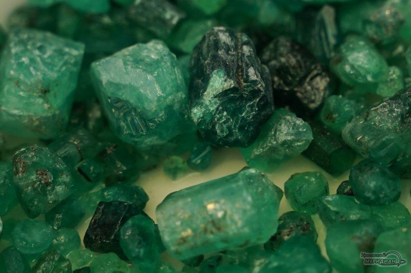 mariinskiy priisk ruda izumrud mestorozhdenie shahty 158