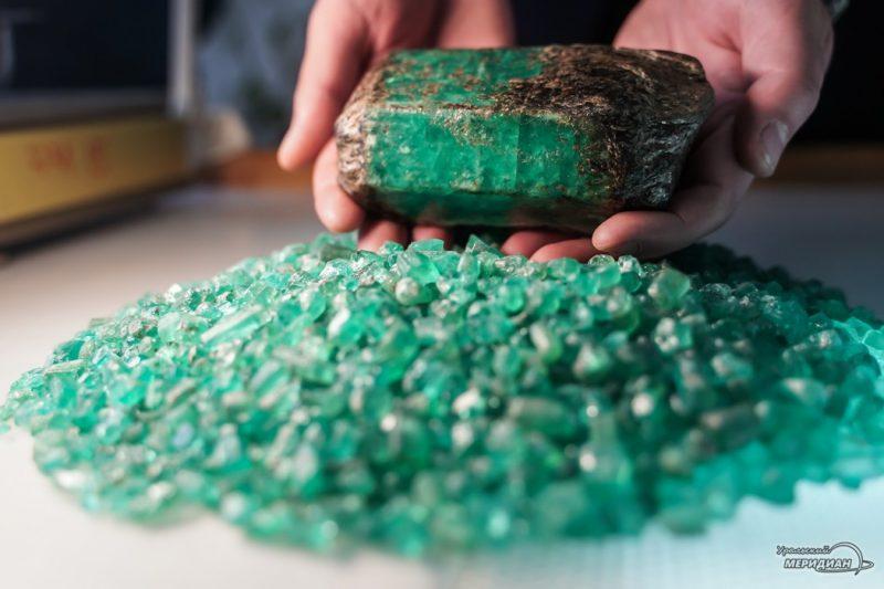 mariinskiy priisk ruda izumrud mestorozhdenie shahty 180