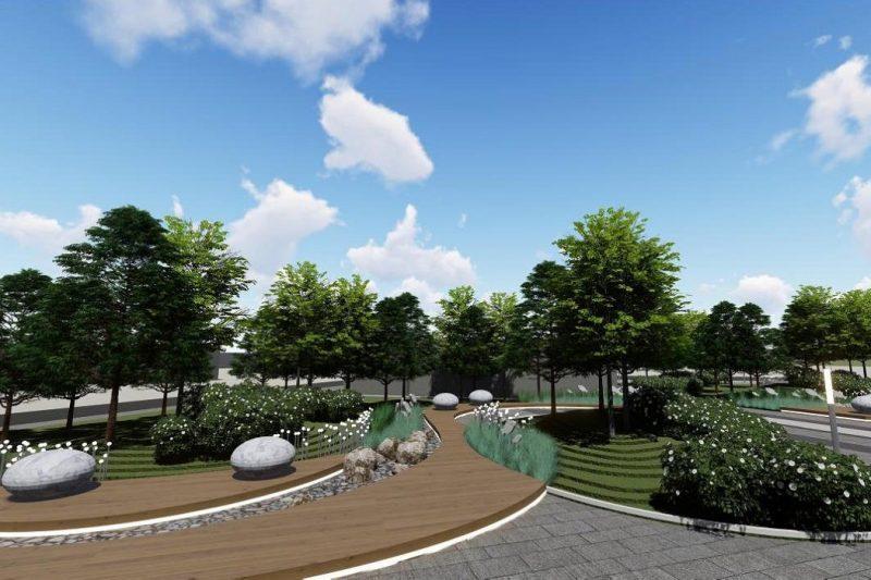 привокзальная площадь Ишим благоустройство парка