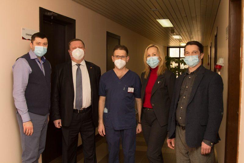 Свердловские медики высоко оценили работу тюменской ОКБ №1 1