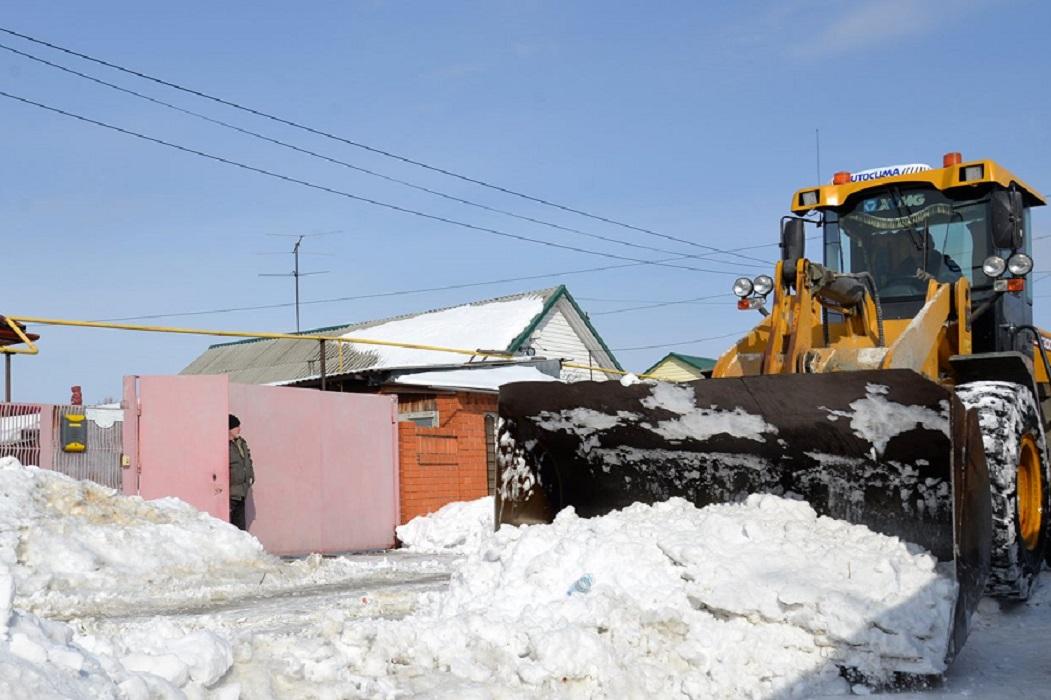 Уборка снега + частный сектор