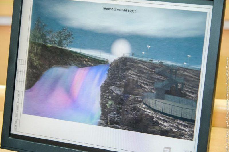 В Висимо-Уткинске за 22 миллиона обустроят зону отдыха с водопадом