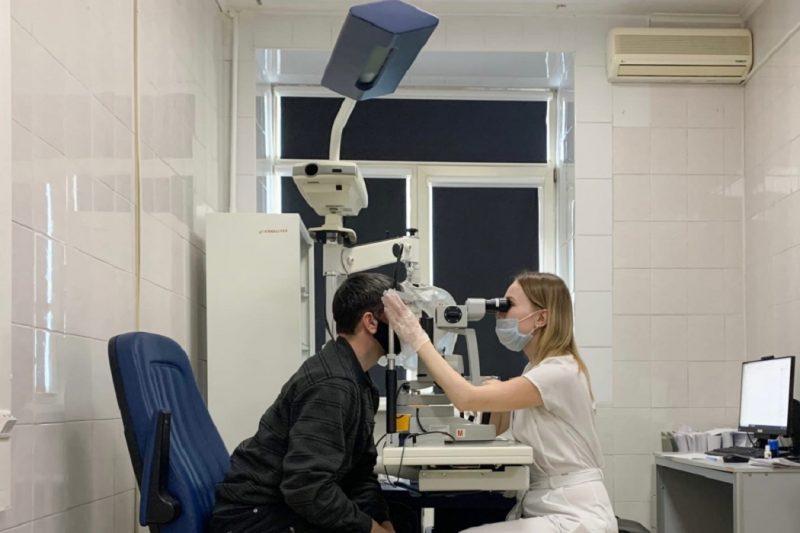 офтальмологическая установка