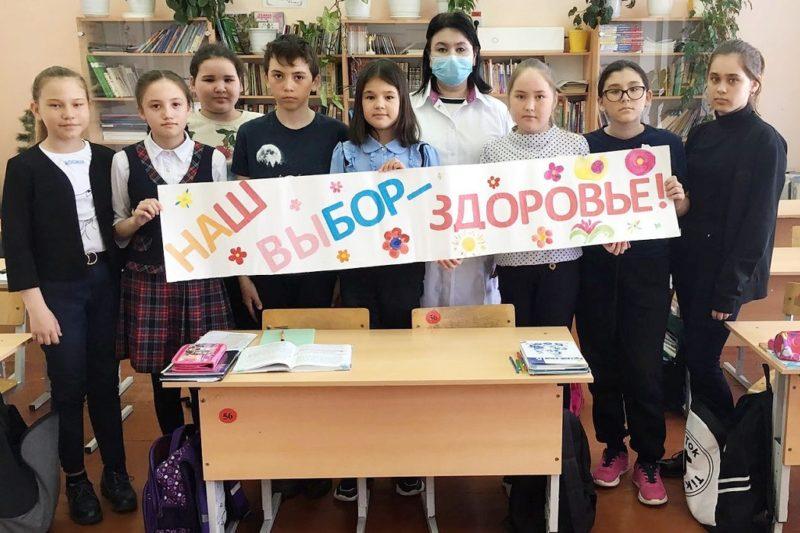 200 детей Тюменского района приняли участие в уроках вакцинопрофилактики