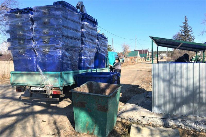 Более 500 евроконтейнеров для мусора установят в Голышмановском районе