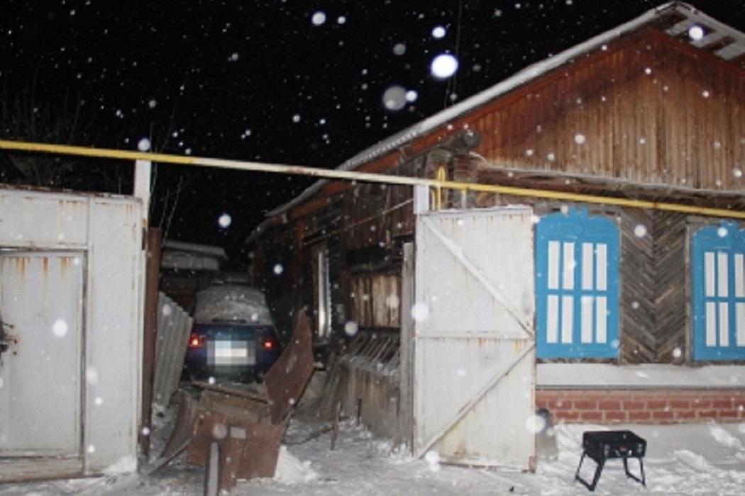 Дом + зима + снег