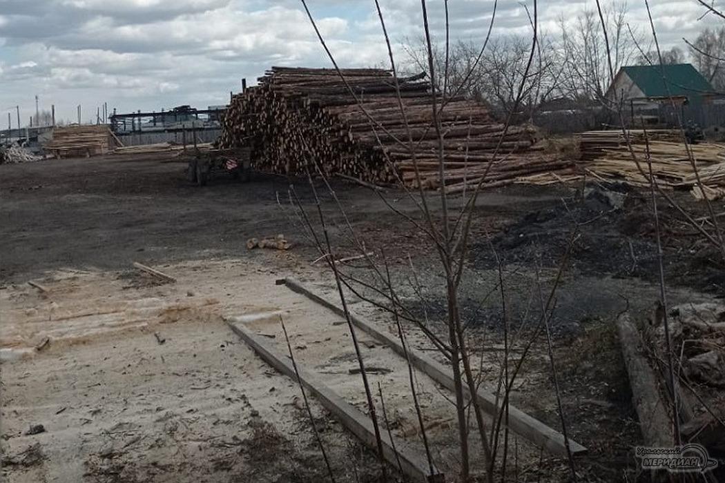 Жители села Введенское задыхаются от дыма криминальной лесопилки
