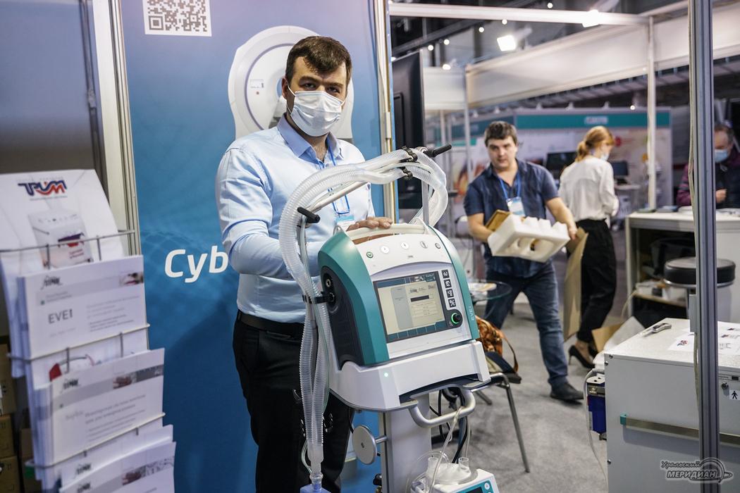 В Екатеринбурге открылась выставка «Здравоохранение Урала-2021»