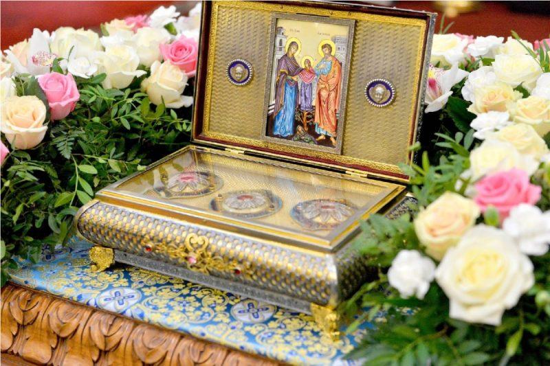 На майские праздники в Челябинскую область привезут часть пояса Богородицы