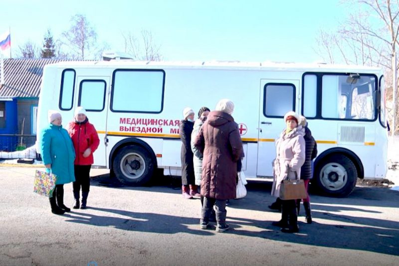 По селам Ишимского района курсирует диагностическая служба на колесах
