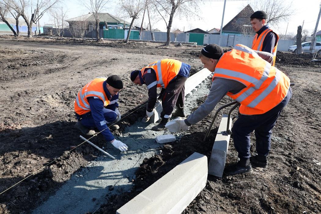 Рабочие + ремонт + земля + благоустройство