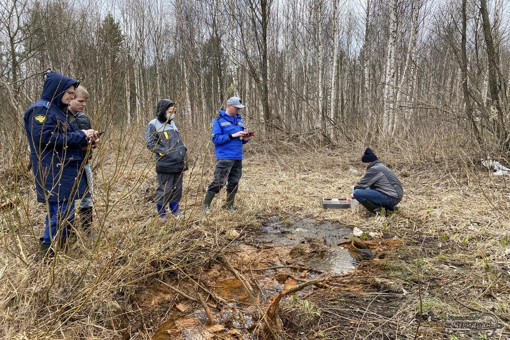 Природоохранная прокуратура проверила воду в реке у полигона Северный