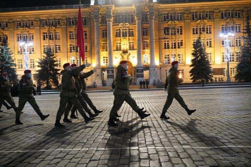Repetitsiya Parada Pobedy Ekaterinburg TSVO 21 22.04.21 10