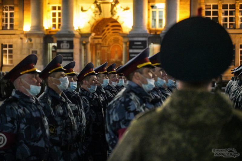 Repetitsiya Parada Pobedy Ekaterinburg TSVO 21 22.04.21 13