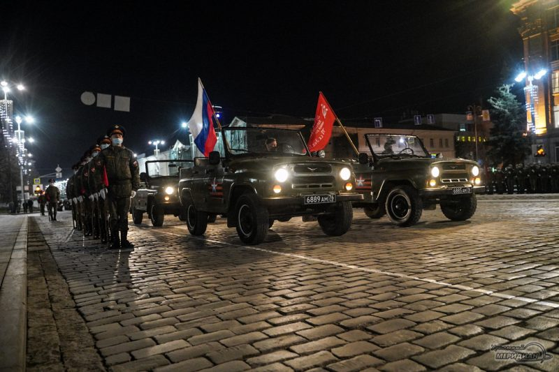 Repetitsiya Parada Pobedy Ekaterinburg TSVO 21 22.04.21 14