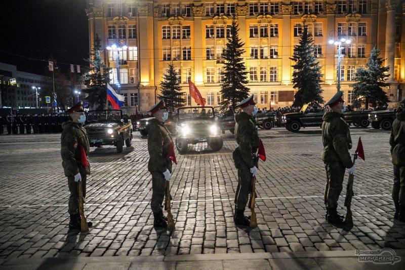 Repetitsiya Parada Pobedy Ekaterinburg TSVO 21 22.04.21 18