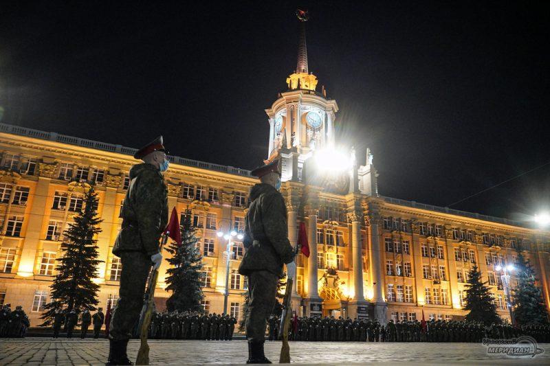 Repetitsiya Parada Pobedy Ekaterinburg TSVO 21 22.04.21 2