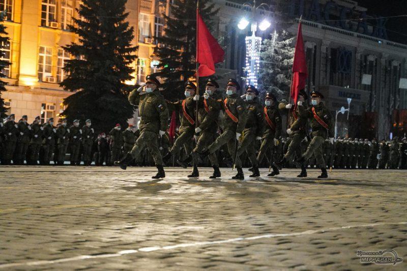 Repetitsiya Parada Pobedy Ekaterinburg TSVO 21 22.04.21 20
