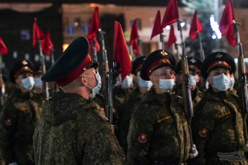 Repetitsiya Parada Pobedy Ekaterinburg TSVO 21 22.04.21 6
