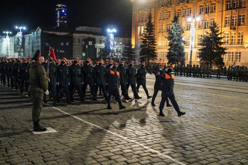 Repetitsiya Parada Pobedy Ekaterinburg TSVO 21 22.04.21 8