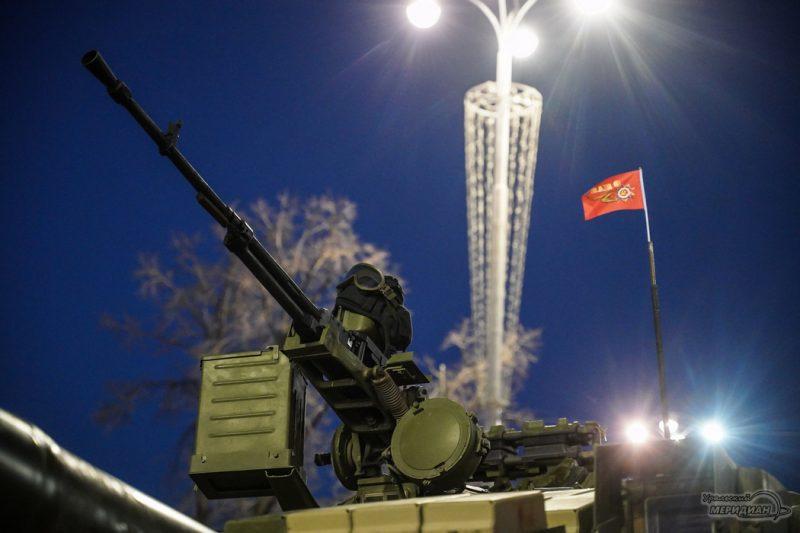 Repetitsiya parada Pobedy Ekaterinburg 26.04.21 11