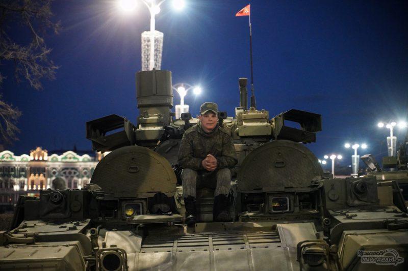 Repetitsiya parada Pobedy Ekaterinburg 26.04.21 12
