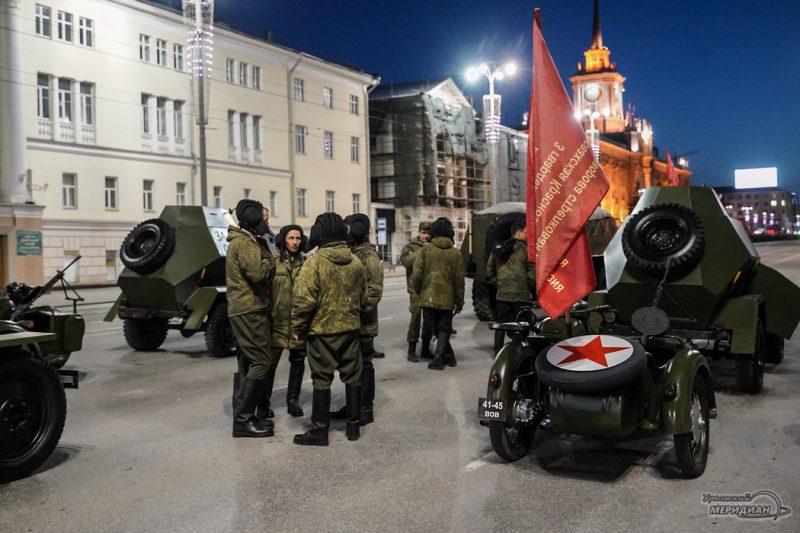 Repetitsiya parada Pobedy Ekaterinburg 26.04.21 15