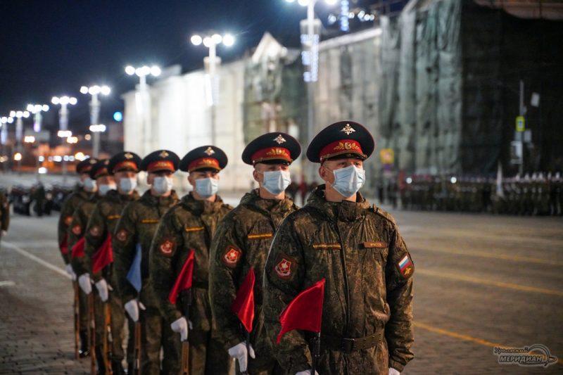 Repetitsiya parada Pobedy Ekaterinburg 26.04.21 19