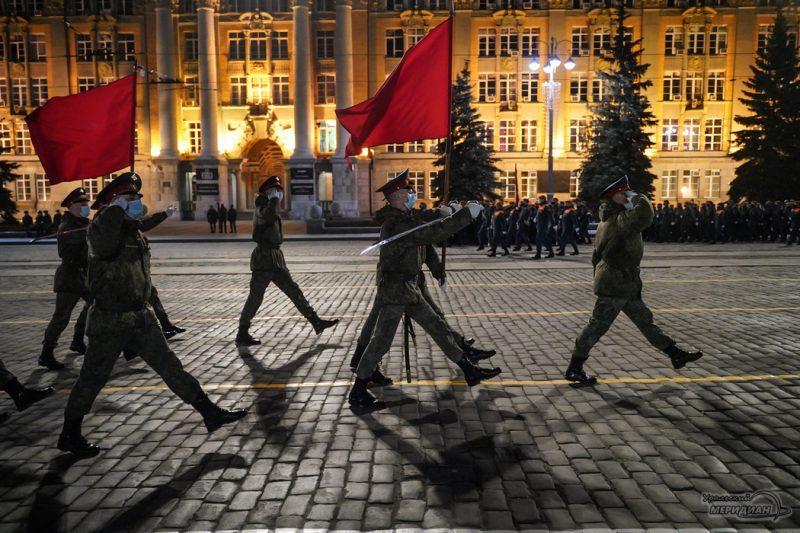 Repetitsiya parada Pobedy Ekaterinburg 26.04.21 30