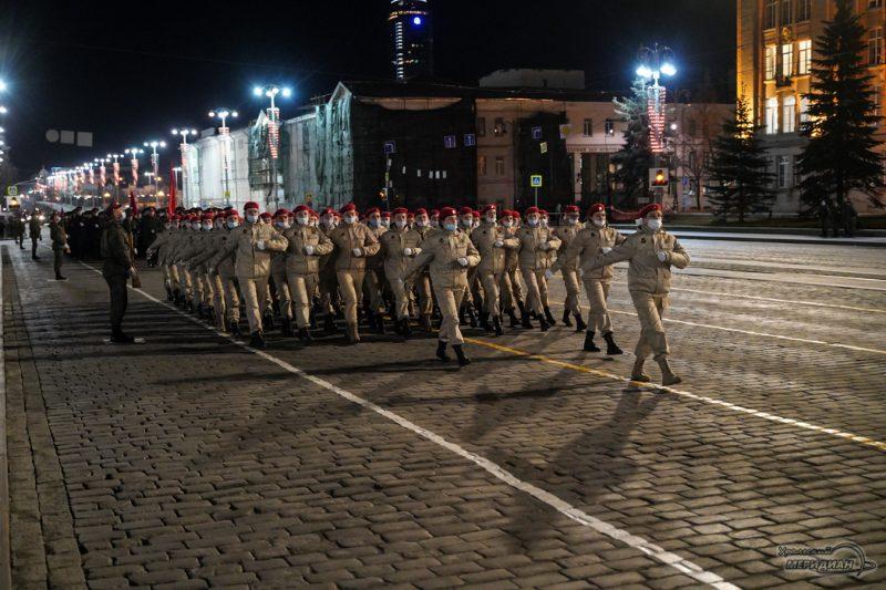 Repetitsiya parada Pobedy Ekaterinburg 26.04.21 40