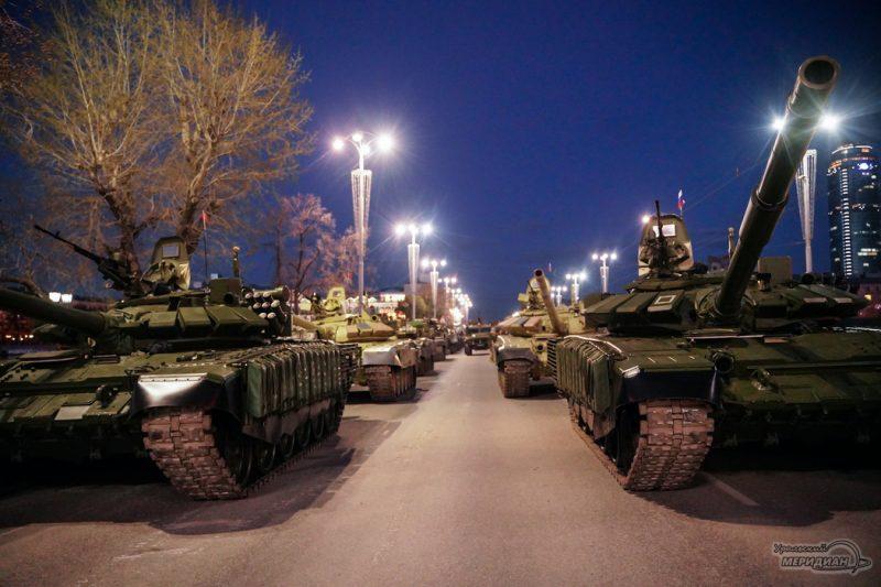 Repetitsiya parada Pobedy Ekaterinburg 26.04.21 6