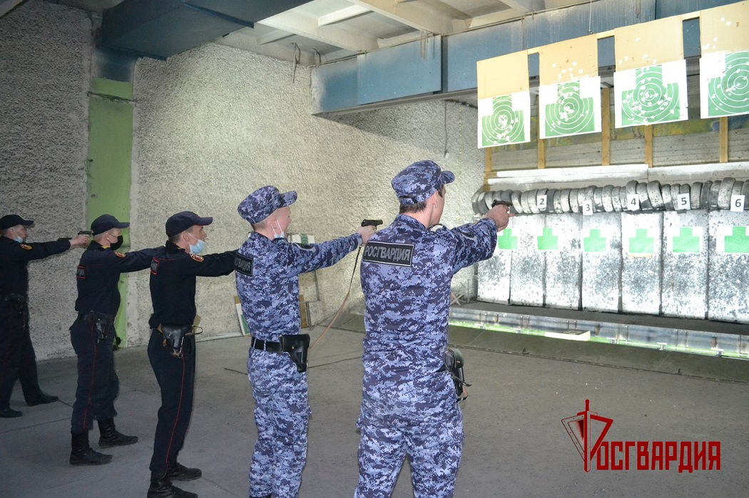 Стрельба в тире + Росгвардия