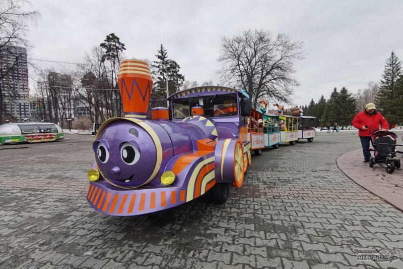 TSPKiO Mayakovsogo Ekaterinburg atraktsion park 10