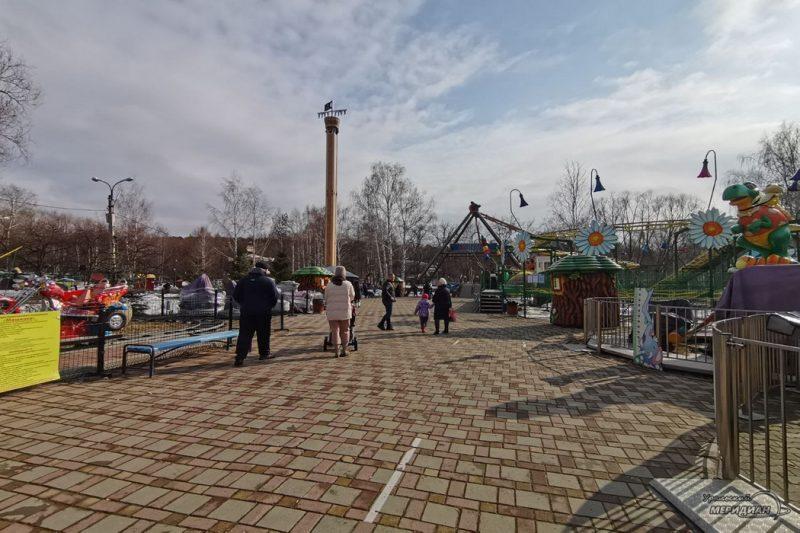 TSPKiO Mayakovsogo Ekaterinburg atraktsion park 6