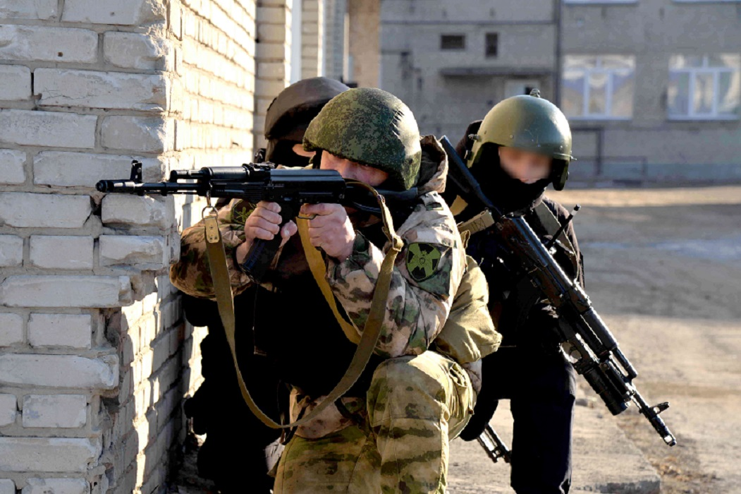 В Курганской области состоялось тактико-специальное учение Росгвардии