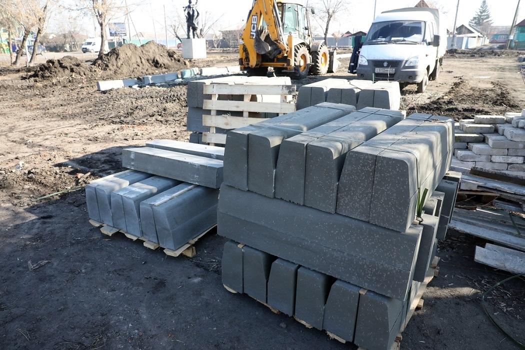 Трактор + ремонт + раскопки + Газель + бетон + блоки