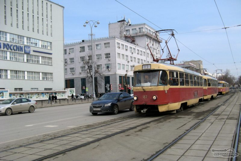 В Екатеринбурге из-за репетиции парада трамваи и автобусы изменят маршруты