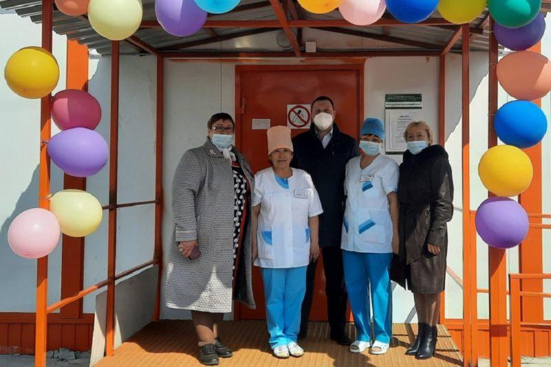 Три новых ФАПа открылись в Ишимском районе