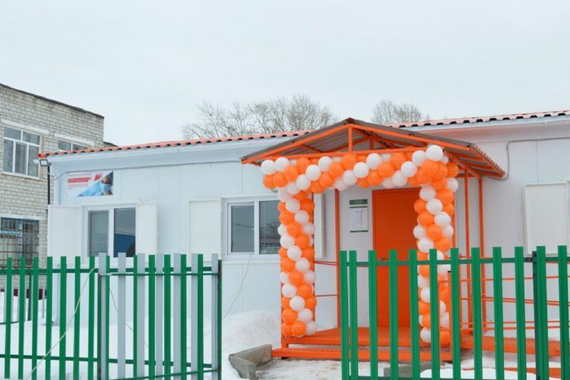 В Абатском районе открыли новый медицинский пункт 1