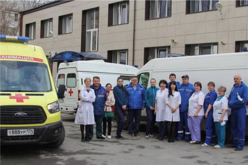 В Челябинской области поздравили всех работников скорой помощи