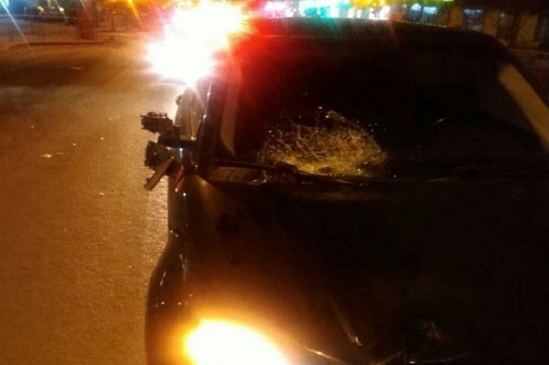 В Тюмени 18-летняя девушка на Range Rover сбила мужчину