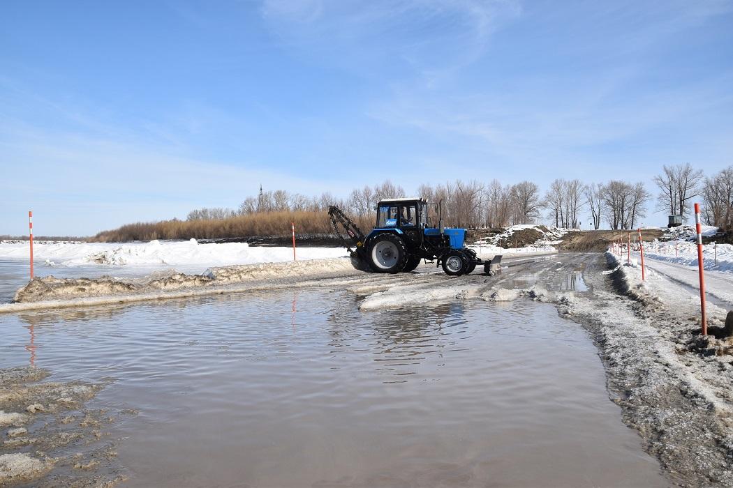 В Ярковском районе закрыты три ледовые переправы 5