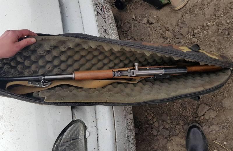 Вахтовик из Тюмени на служебном вездеходе застрелил косулю