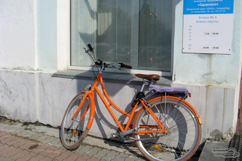 Велосипед улица